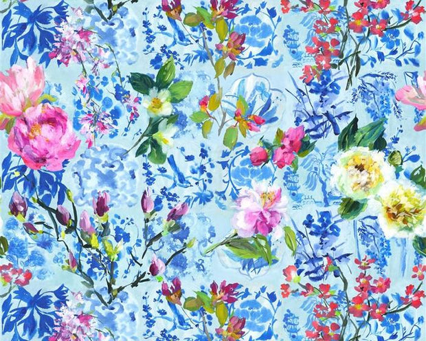 Designers Guild Majolica Cornflower PDG1028/01 Wallpaper