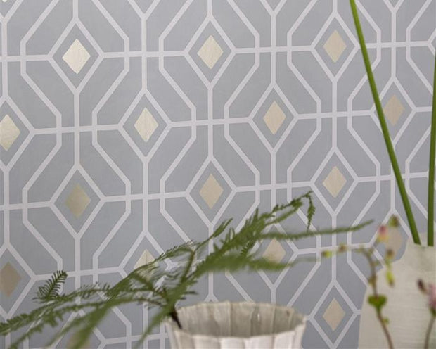 Designers Guild Laterza Platinum PDG1026/07 Wallpaper
