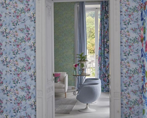 Designers Guild Berettino Silver PDG1024/03 Wallpaper