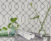 Designers Guild Rabeschi Black And White PDG1027/01 Wallpaper