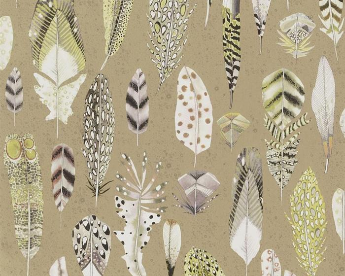Designers Guild Quill Gold PDG1030/02 Wallpaper