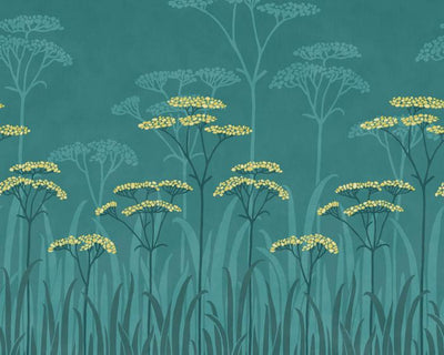 Little Greene Achillea Aurora 0293ASISLAN Wallpaper