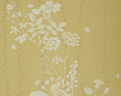 Barneby Gates Wild Meadow in Dandelion Wallpaper BG0200102