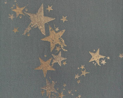 Barneby Gates All Star Gunmetal Wallpaper BG0300201