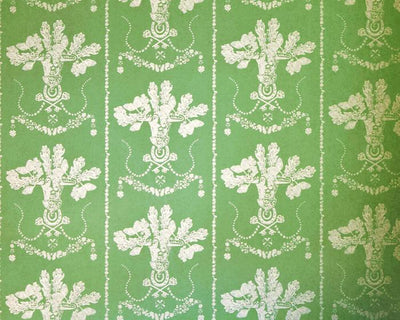 Barneby Gates Lucky Charms in Georgian Green Wallpaper BG0700201