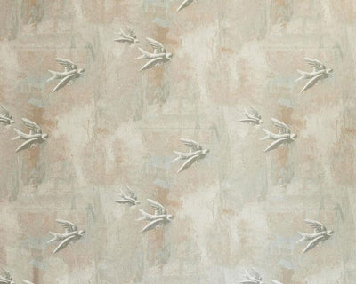 Barneby Gates Fresco Birds in Natural Wallpaper BG0700101