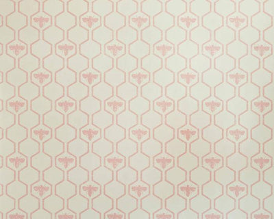 Barneby Gates Honey Bees in Rose on Stone Wallpaper BG0700201