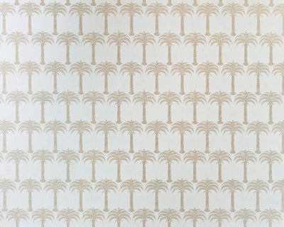 Barneby Gates Marrakech Palm in Soft Gold Wallpaper BG1200102