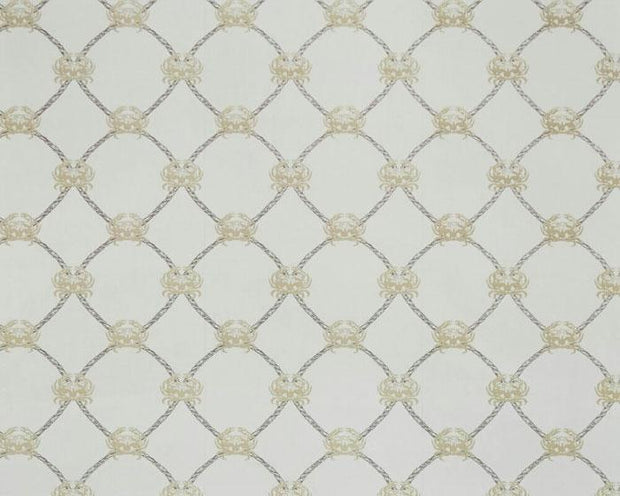 Barneby Gates Crab in Gold/Charcoal Wallpaper BG1300202