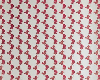 Barneby Gates Poppy Fields in Red/Gold Wallpaper BG1500201