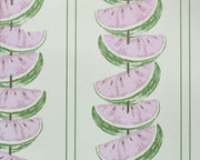 Barneby Gates Watermelon in Pink/Green Wallpaper BG1800102