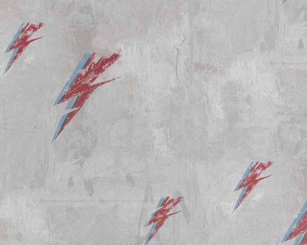 Barneby Gates Bolt From Mars in Red/Natural Wallpaper BG1900102