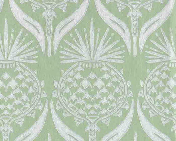 Barneby Gates Artichoke Thistle in Spring Green Wallpaper BG1900202