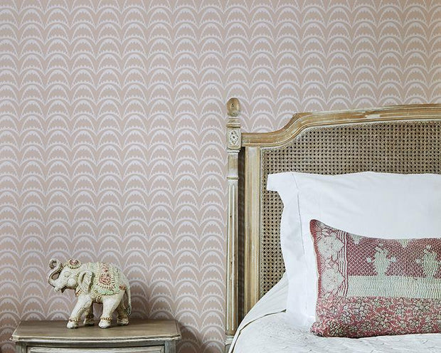 Barneby Gates Arcade in Pastel Pink Wallpaper BG1700202