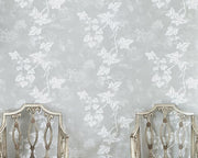 Barneby Gates Ivy in Aged Grey Wallpaper BG1700102