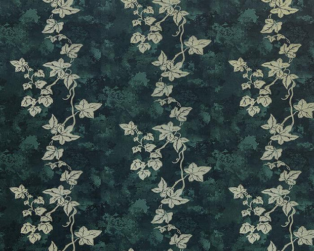 Barneby Gates Ivy in Deep Green Wallpaper BG1700101