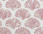 Barneby Gates Scallop Shell in Red Wallpaper BG2100101