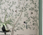 Little Greene Belton Scenic Oyster 0293ASISLAN Wallpaper