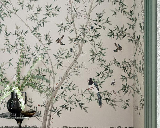 Little Greene Belton Scenic Pavilion 0293ASISLAN Wallpaper