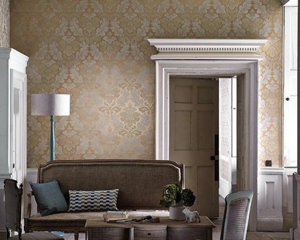 Little Greene Bonaparte Sable 0248BPSABLE Wallpaper