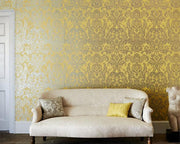 Zoffany Brocatello Chalk 312007 Wallpaper