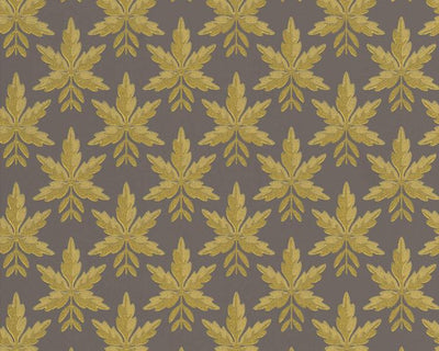 Little Greene Clutterbuck Corinthian Gold 0293ASISLAN Wallpaper
