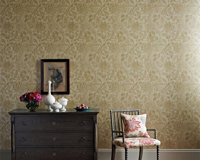 Zoffany Cochin Blue 311708 Wallpaper
