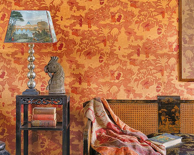 Cole & Son Chinese Toile 100/8041 Wallpaper