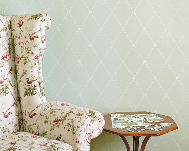 Cole & Son Large Georgian Rope Trellis 100/13063 Wallpaper