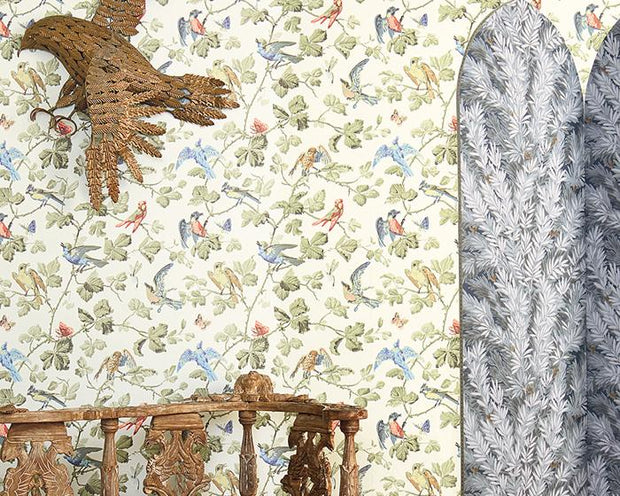 Cole & Son Winter Birds 100/2007 Wallpaper