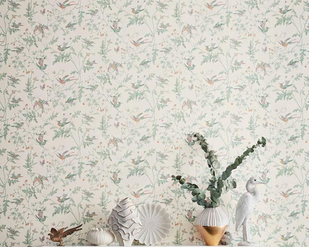 Cole & Son Hummingbirds 112/4014 Wallpaper