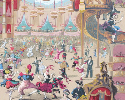 Cole & Son Cabaret 103/7026 Wallpaper