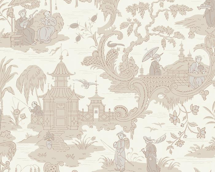 Cole & Son Chinese Toile 100/8039 Wallpaper