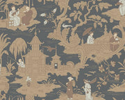 Cole & Son Chinese Toile 100/8040 Wallpaper