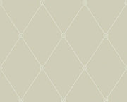 Cole & Son Large Georgian Rope Trellis 100/13065 Wallpaper