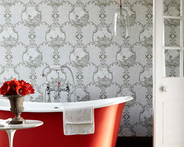 Little Greene Crooms Hill Breccia 0282CHBRECC Wallpaper