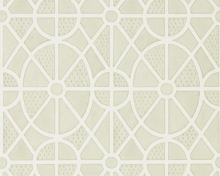 Sanderson Garden Plan Canvas 216316 Wallpaper