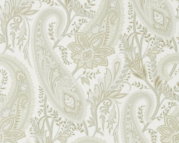 Sanderson Cashmere Paisley Mineral/Taupe 216319 Wallpaper