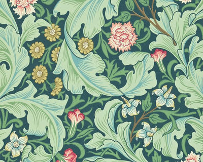 Morris & Co Leicester Woad/Sage 212541 Wallpaper