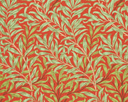 Morris & Co Willow Bough Tomato/Olive 216951 Wallpaper