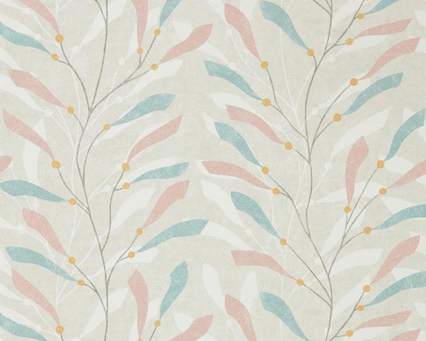 Sanderson Sea Kelp Blush/Stone 216567 Wallpaper