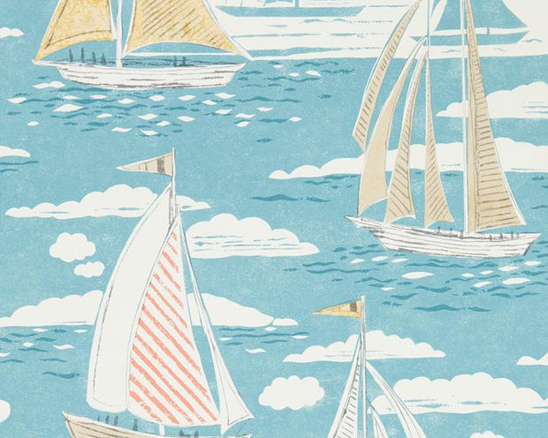 Sanderson Sailor Pacific 216571 Wallpaper