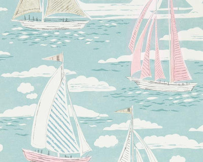 Sanderson Sailor Sky 216573 Wallpaper