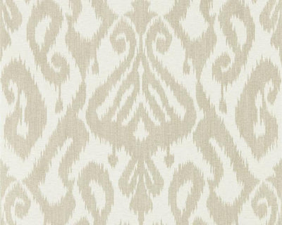 Sanderson Caspian Kasuri Country Linen 216783 Wallpaper