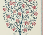 Sanderson Caspian Anaar Tree Annato/Blueberry 216790 Wallpaper