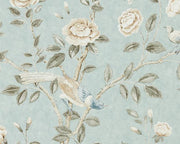 Sanderson Caspian Andhara Dove/Cream 216797 Wallpaper