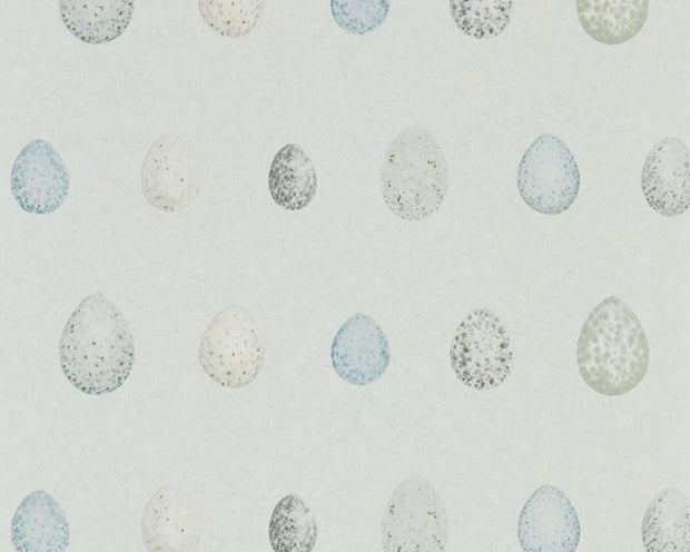 Sanderson Nest Egg Marine Aqua 216504 Wallpaper