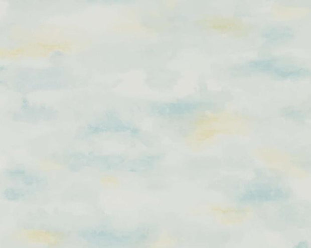 Sanderson Bamburgh Sky Estuary Blue 216515 Wallpaper