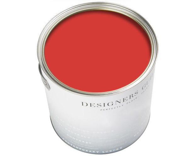 Designers Guild Perfect Matt Emulsion Flame Red 121 Paint