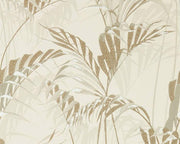 Sanderson Palm House Linen/Gilver 216644 Wallpaper